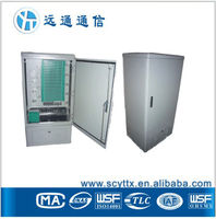 19 inch rack enclosure outdoor SMC Cable telecom equipment, Cable Cross Connection Cabinet