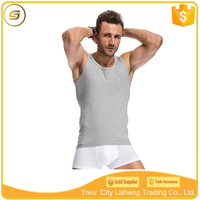 Dri fit plain 100% cotton mens tank top wholesale