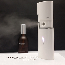 Hand facial and head steamer nano mist spray equipment for beauty device