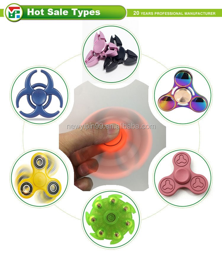 2017 popular finger spinner/hand spinner hardware fidget spinner