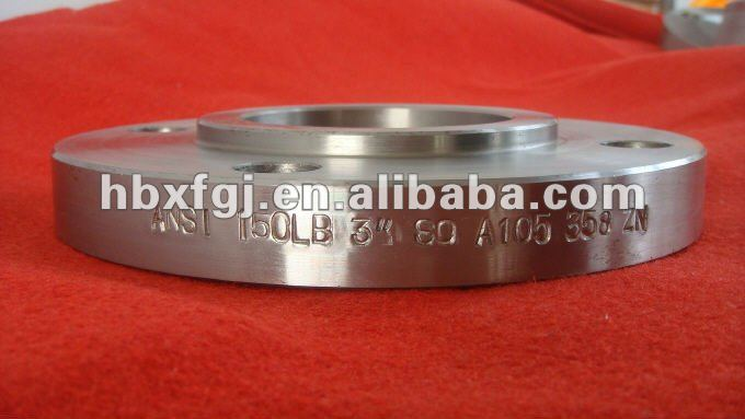 BS4504 forged cs and ss slip on flanges