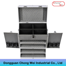 Low price oem design aluminum plastic tool case