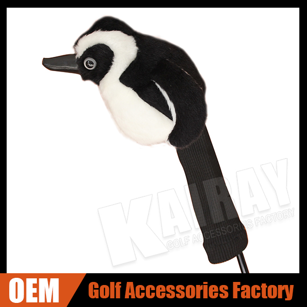 Custom Unique Penguin Golf Club Head covers, Animal golf club head covers, animal golf covers