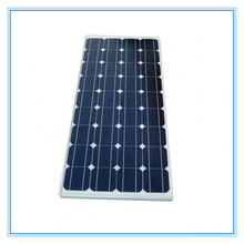 High efficiency 140W 24 volt price per watt monocrystalline silicon solar panel with TUV UL and Product insurance