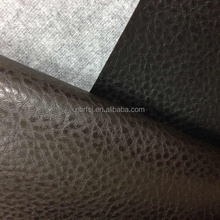 Alibaba China factory embossed synthetic leather for sofa