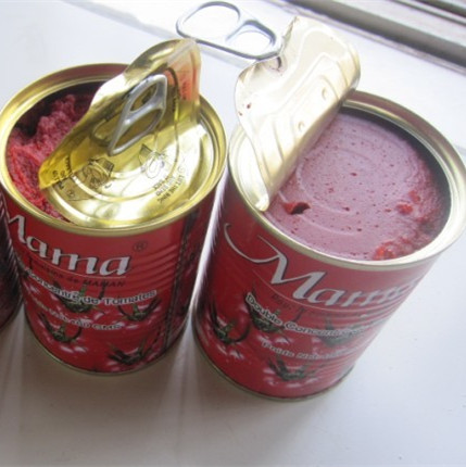 Good tasty red canned tomato paste/ canned food supplier