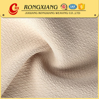 Garments fabric supplier High quality Wholesale Garment plain weave polyester fabric