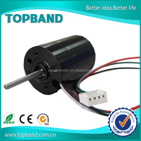 Black 12v electric car wheel motor