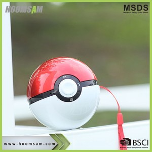 BSCI manufacturer Speaker , Sports Wireless Speaker, Mini Music Speaker Ball shaped wireless speaker pokemo hoomsam