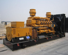 400kw natural gas generator set with radiator