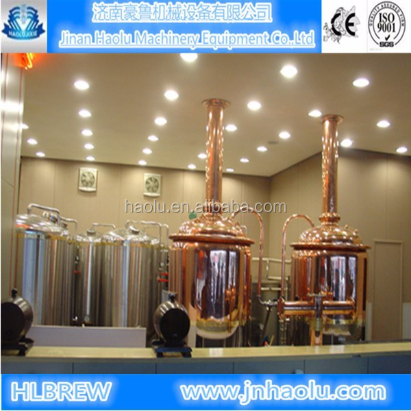 300L Bar/ Restaurant beer equipment, High quality Stainless steel brewery tanks and Draught beer making line