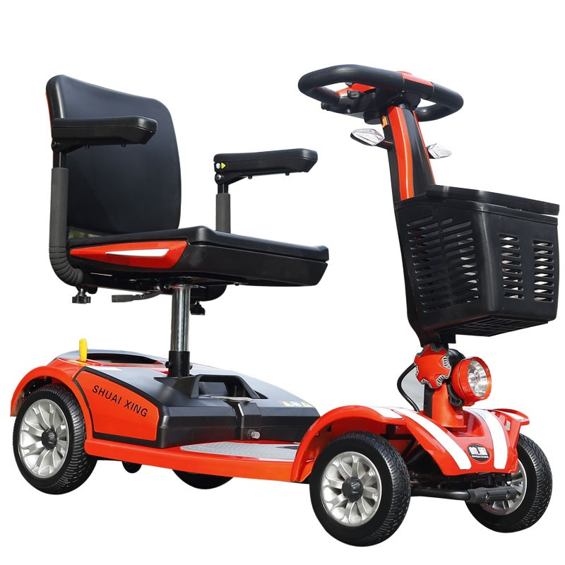 China supplier Folding USB elderly CE eec electric three wheel scooter