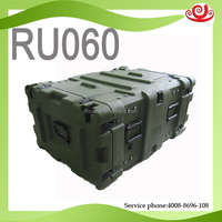 Tricases China factory OEM/ODM shockproof watertight Roto Shock Rack case 6U