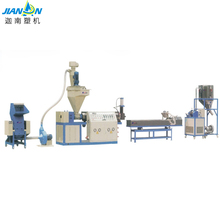 Recycling machine eps granules screw barrel lab extruder granulator