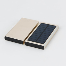 16000mAh polymer big lithium battery solar power bank for phone portable mobile solar power charger