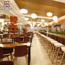 (SP-CS394) Modern fast food wholesale chinese restaurant furniture, restaurant tables chairs