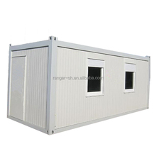 ready made sandwich panel living container house with wheels