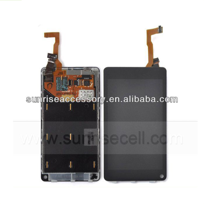 Wholesale Original Lcd screen display for nokia n9,for nokia n9 lcd