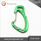 64mm Cheap Key Chain Aluminum Carabiner Clip