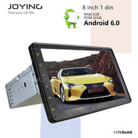 8Inch Autoradio Antenna Android Car Radio Touch Screen Single 1 Din Car Radio Gps