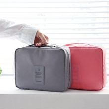 Factory Audit Passed Hot Sale Women Cosmetic Bags Makeup Organizer Bag Travel Organizer Case with Handle Necessaries Store Bag