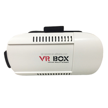 VR BOX Virtual reality headset 3D Glasses VR Google Cardboard Glasses For iPhone For Samsung 3D <strong>Video</strong> Glasses+Game Controller
