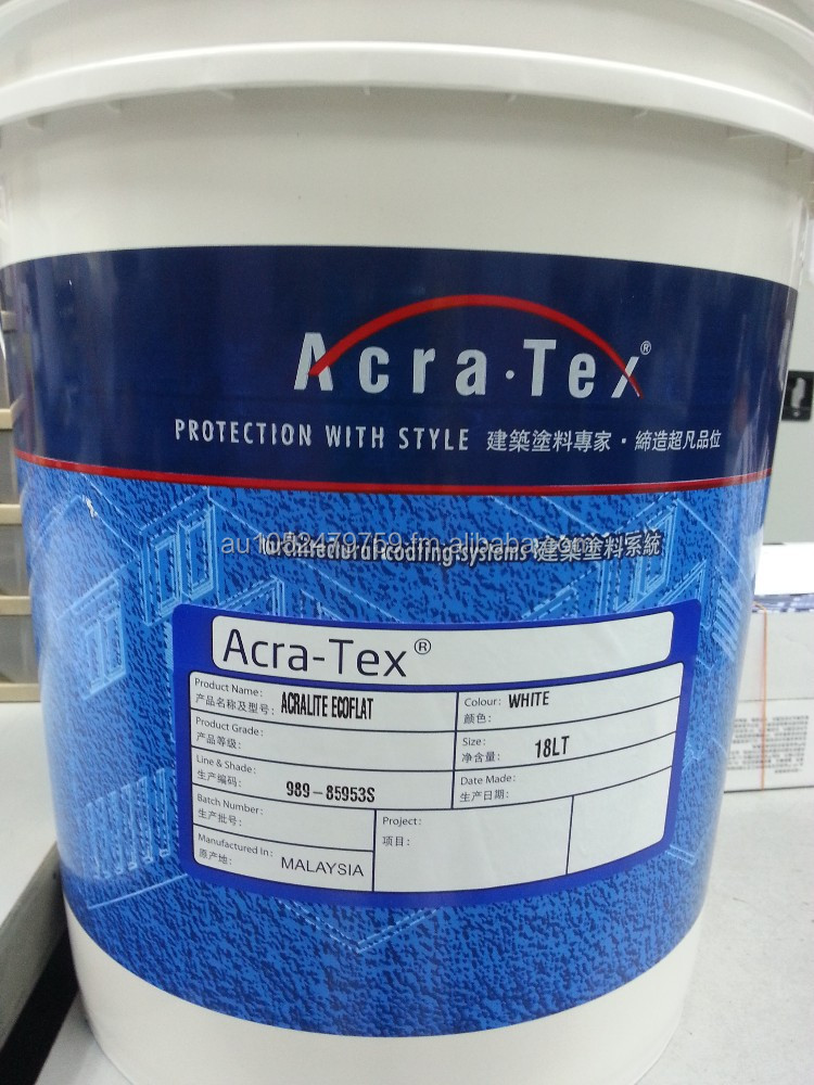 TradeEX Acra - Tex Latex white water based paint