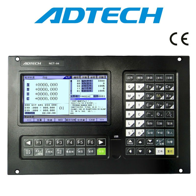 4 Axis Punching CNC Controller NCT-04