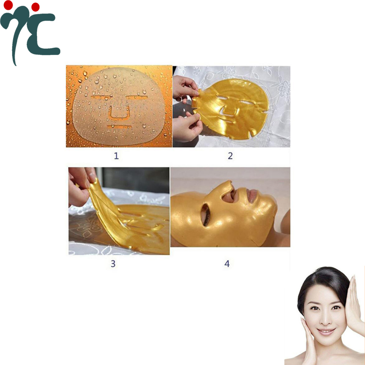24k Gold Facial Mask For Collagen Renewal