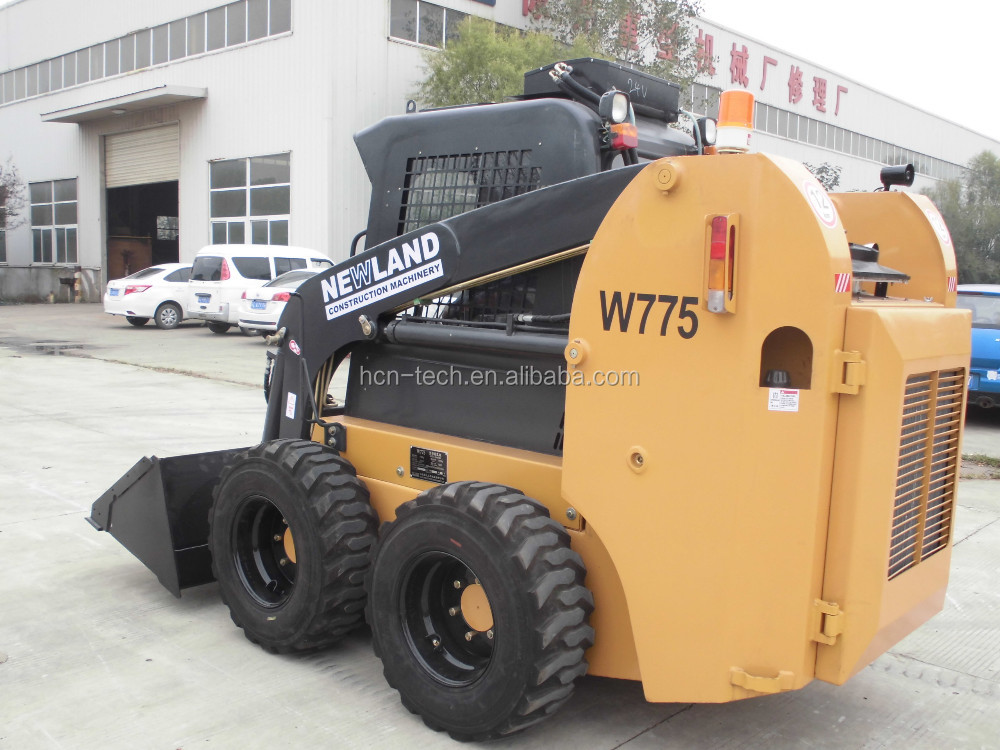 NEWLAND brand W775 mini loader with a bucket