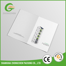 Products manual catalog printing with black and white color