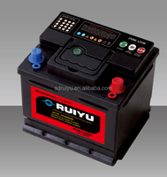 12v DIN45 MF battery 12v45ah car battery auto starting use home lighting use with competitive price
