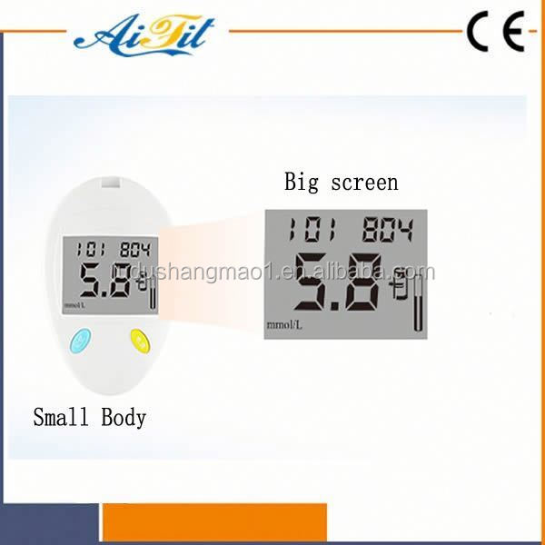 Newest Bluetooth Blood glucose meter, Cholesterol, Uric acid / Hemoglobin Meter