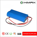 3.6V 3.7V 18650 li ion battery customize pack with pcm ntc wire connector