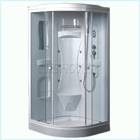 Acrylic Enclosed Jetted Shower Cubicle