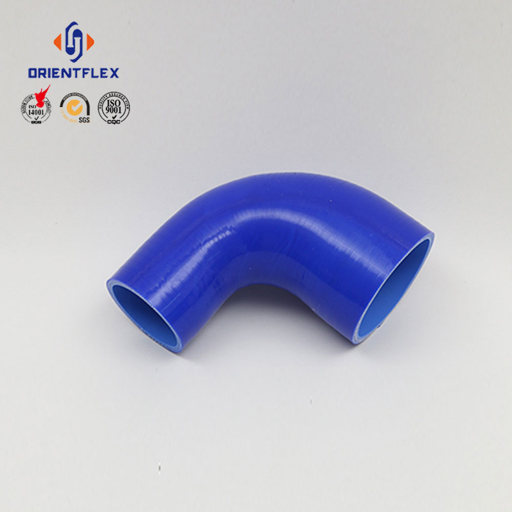 high performance 45 degree reducer elbow silicone radiator hose for volvo