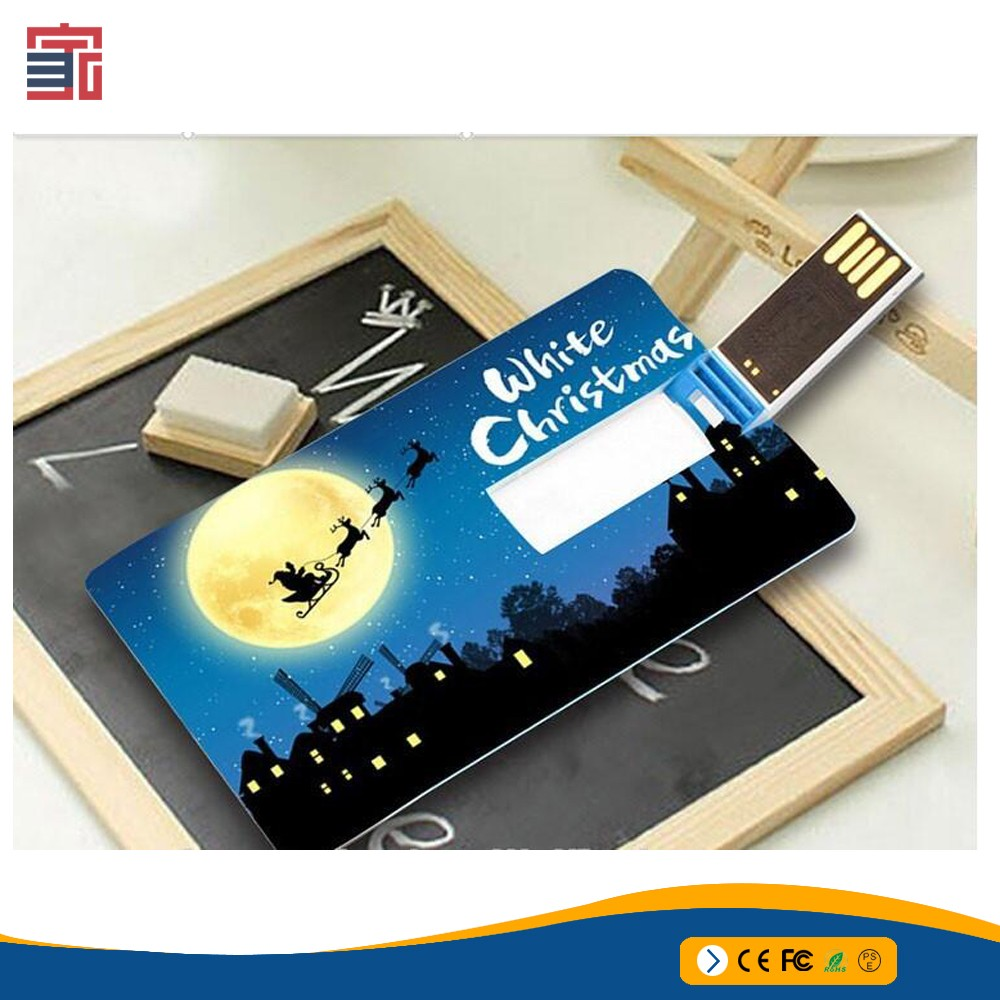 Promotional super thin cheap bulk business credit card shaped type usb flash drive