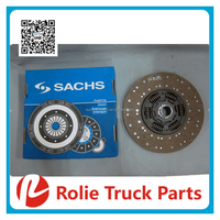 European truck auto spare parts oem 1878003895 transmission system copper material clutch disc for scania clutch plate