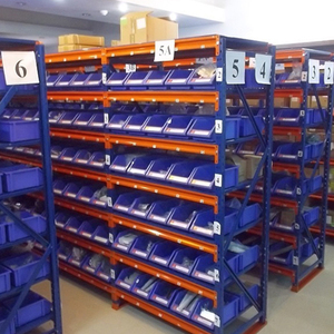 Customized Steel Long Span Storage Racks And Shelves For Warehouse Storage