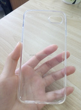 Promotion 1.0mm Thickness For Iphone Samsung Huawei Smartphones White Crystal Clear Transparent TPU Case