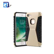Cell Phones Accessories In China Steel Shield Anti Fall 2 in 1 Mobile Phone Case For iphone 7 TPU PC