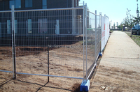 Australia style mobile temporary security fencing