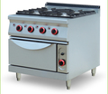 Multifunctional catering equipment gas range with 4-burner & oven BN900-G809
