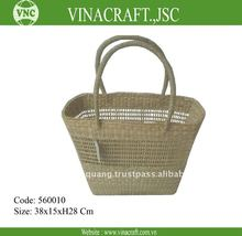 Lady seagrass shopping bag