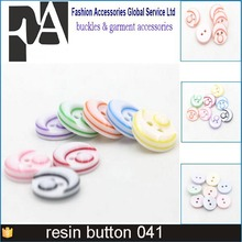 Custom Message Engraved Resin Polyester Suit Buttons, Factory direct selling