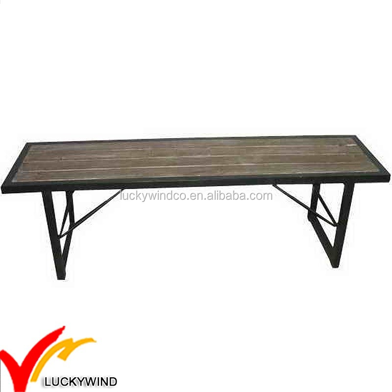 list of vintage iron bench wood
