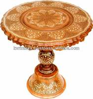 2015 wooden carved center table designs