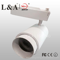 30w focusing beam angle changeable led track light