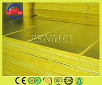 Langfang Senmei soundproof glass wool board faced insulation foil