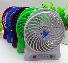 Mini Battery Powered Air Cooling Fan Portable Plastic Ventilation Fan